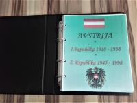 Nov album Avstrije 1918-1998