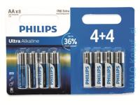 BATERIJA PHILIPS AA 8X – ALKALNA POWER AKCIJA