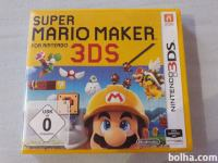 Prodajam igro Super Mario Maker for Nintendo 3DS