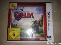 Prodajam igro The Legend of Zelda: Ocarina of Time 3D