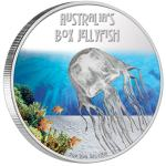 Deadly & Dangerous - Box Jellyfish 1oz 2011 PROOF