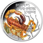 Deadly & Dangerous - Spider-Hunting Scorpion 1oz 2014 PROOF