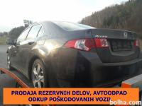 Honda Accord Honda Accord 2.2i DTEC Executive, letnik 2009, 11111 k...
