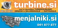 Turbina BMW F10-11 520d in 525d- OBNOVA turbine