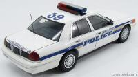 AUTOart- FORD USA - 1: 18 CROWN VICTORIA DES PLAINES POLICE
