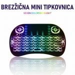 Mini brezžična tipkovnica Bluetooth za SMART TV box pametni TV Android