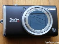 Prodam Canon PowerShot SX200 IS Digital Camera (Black)