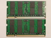 2GB PC2-5300 DDR2-667 200pin SODIMM RAM za prenosnik