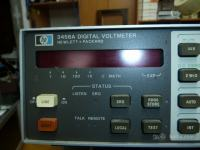 Digital voltmeter HP3456A