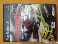 PS2 PLAYSTATION 2 original igra BURNOUT 2 - POINT of IMPACT