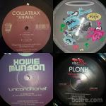 House electro vinyl records