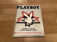 Vintage Playboy twenty-fifth anniversary issue 1979 collectors edition