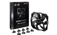 Be quiet! ventilator za ohišje Silent Wings 3, 140 mm, 4-pin PWM