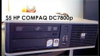 HP DC7800p SFF:C2D E6750/3GB DDR2/250GB HDD/dvd-RW/win