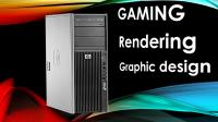 HP Z400 X Series|Rendering|Gaming|6-core|SSD+HDD|WIN 10