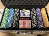 Poker set - neodprte karte