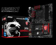 Intel i7 4790 + MSI Z97a GAMING 6 + 32GB DDR3