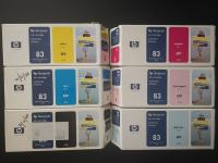 Set kartuš HP83 UV Ink for DesignJet 5000/5500 C4940/1/2/3/4/5a