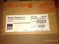TONER DSc328/DSc332/DSc338, YELLOW, BLACK