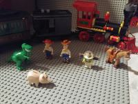 Lego 7597 Western Train Chase Toy Story 3