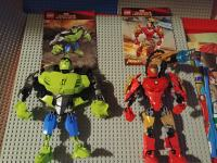Lego Iron Man 4529 & Hulk 4530 Marvel Super Heroes
