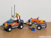 Lego Kocke 7737 Coast Guard 4wd&jet scooter