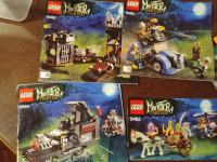Lego monster fighters 9464, 9466, 9462