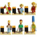 simpsons figure lego kompatibilne kocke