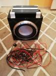 Woofer Evertone 1000W + ojačevalec Ground Zero 1200W + kabli