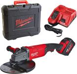 Milwaukee M18 FLAG-230XPBD-121C Akumulatorska kotna brusilka,18V,230mm