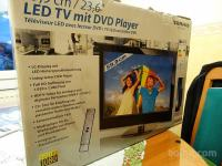 LED TV z vgrajenim DVD
