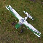 Durafly Tundra (PNF) - Green/Silver - 1300mm