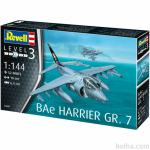 Maketa avion Bae Harrier GR.7 1/144