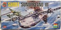 Maketa avion Short Sunderland III Flying Boat