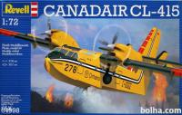 Maketa aviona avion Canadair CL-415
