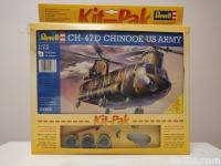 Maketa helikopterja Chinook CH-47D us army 1:72