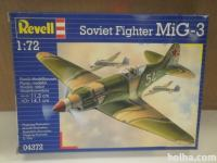 Maketa MiG-3 Soviet Fighter 1/72 Revell 1:72
