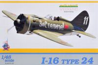 Maketa Polikarpov I-16 Type 24 1/48