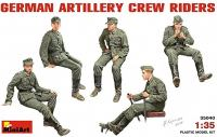 Maketa figurice German Artillery Crew Riders 1/35 1:35
