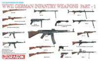 Maketa figurice WWII German Infantry Weapons Part 1 1/35 1:35
