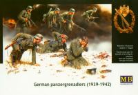 Maketa figurice WWII German Panzergrenadiers 1/35 1:35