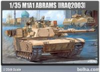 Maketa tank M1A1 ABRAMS 'IRAQ 2003'
