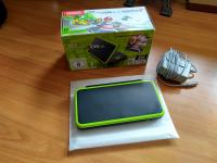 New Nintendo 2DS XL (prednaložen mariokart7) black & lime green