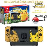 Nintendo Switch Let's Go Pikachu ali Eevee Limited Edition konzola