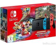 Nintendo Switch v2 + Mario Kart Deluxe 8 + Fortnite + bon 30€