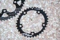 double chainrings 50-35 ovals new