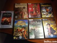 10 X PC IGRE,PRINCE OF PERSIA,ROME,HARRY POTTER