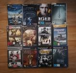 Originalni ovitki za PC in PS2 igre I.G.I. 2,Star Wars, King Kong,...