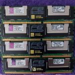Kingston RAMI. F51272F51  8X4 GB 2RX4 PC2 5300F 6 ea. 840-0020