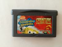Spongebob Squarepants Nintendo GameBoy Advance GBA